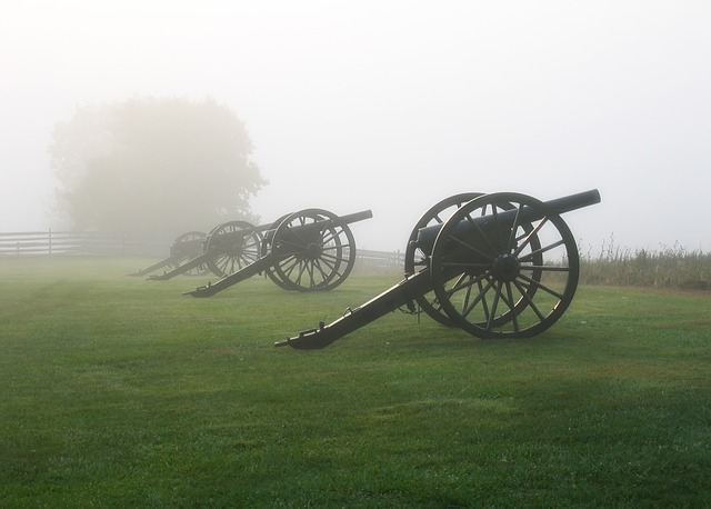 Antietam, Maryland, Cannon, Battlefield, Landscape