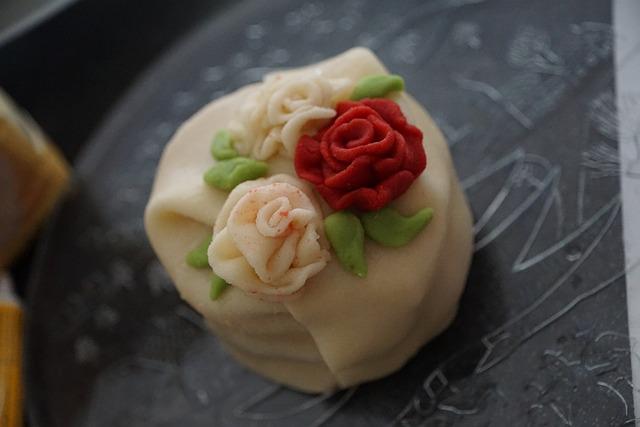 Cake, Marzipan, Rose, Bake