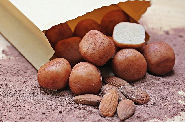 Marzipan Potatoes, Marzipan, Sweet Goods, Almonds