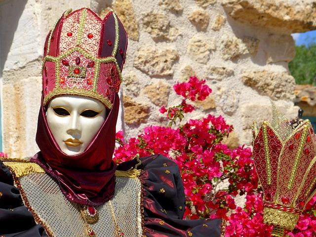 Mask, Mask Of Venice, Carnival, Venice