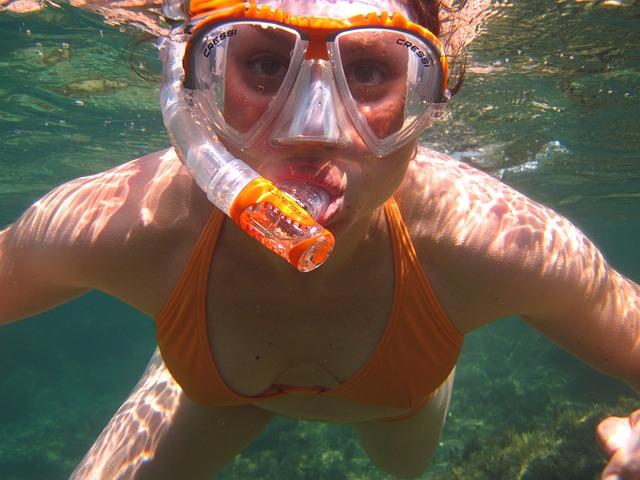 Dive, Snorkeling, Diver, Diving, Mask, Ocean, People