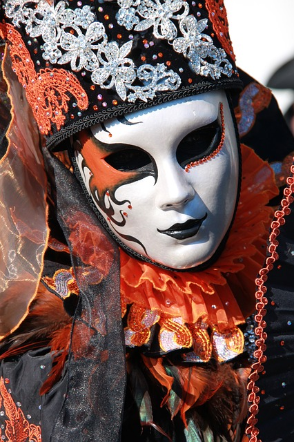 The Carnival Of Venice, Mask, Italy
