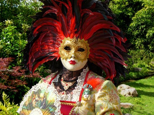 Carnival Of Venice, Mask Of Venice, Masks