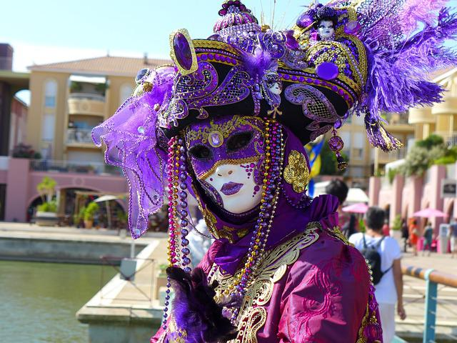 Carnival Of Venice, Mask Of Venice, Masks, Disguise