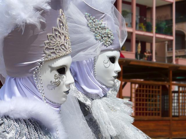 Mask Of Venice, Carnival, Masks