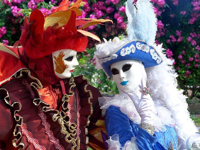 Masks, Carnival Of Venice, Masks Of Venice
