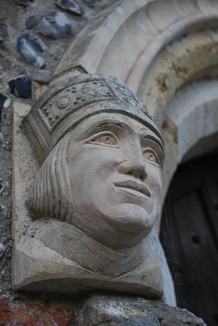 Gargoyle, Stone, Mason, King, Gothic, Church, Old