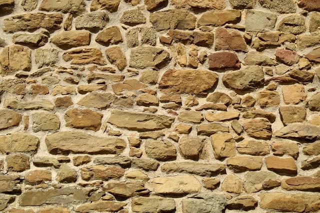 Wall, Stone, Stone Wall, Masonry, Backgrounds, Bricked