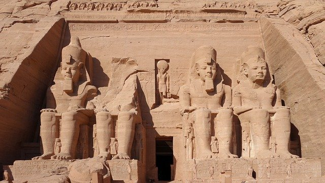 Abu Simbel, Rock Temple, Massive, Hathor, Unesco