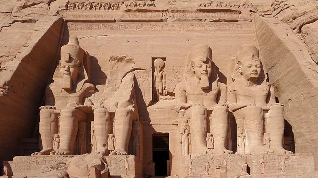 Abu Simbel, Rock Temple, Massive, Hathor, Unesco