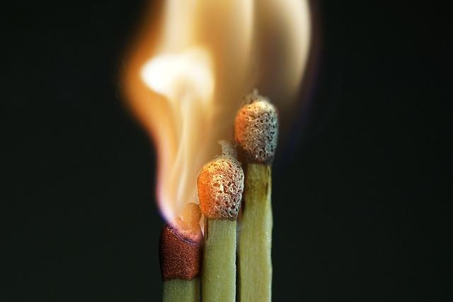 Flare-up, Match, Sticks, Match Head, Light, Flame, Burn