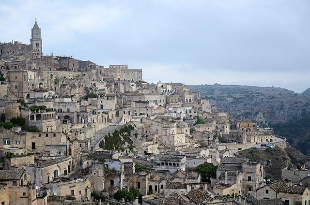 Italy, Pouilles, Basilicata, Matera