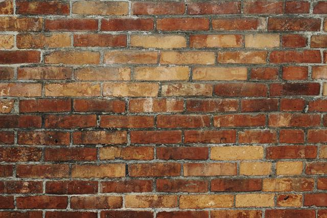 Material, Brick Wall, Red