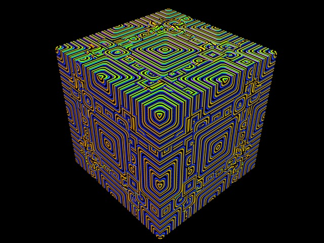 Cube, Math, 3d, Mathematics, Rendering