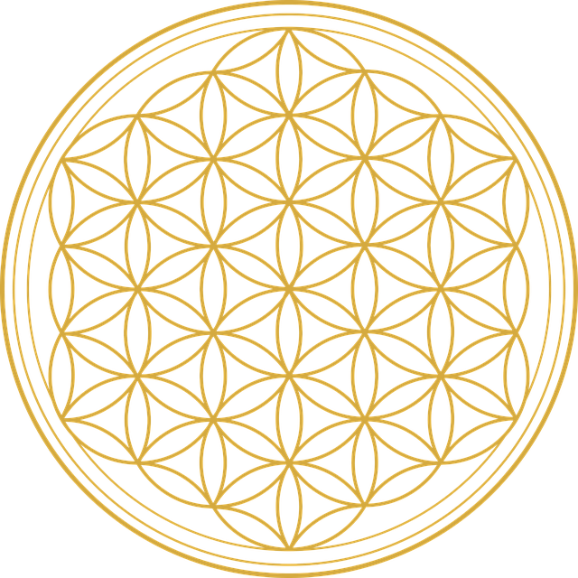 Flower Of Life, Flower, Graphic, Mathematics, Geometry