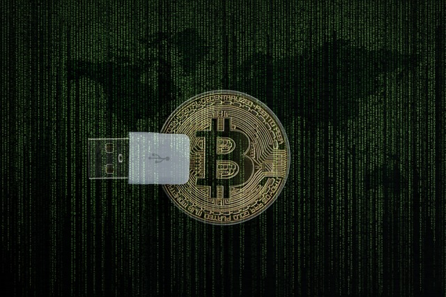 Cryptocurrency, Money, Bitcoin, Matrix, Digital, Cash