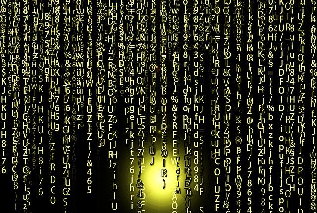 Matrix, Technology, Data, Digital, Network, Internet