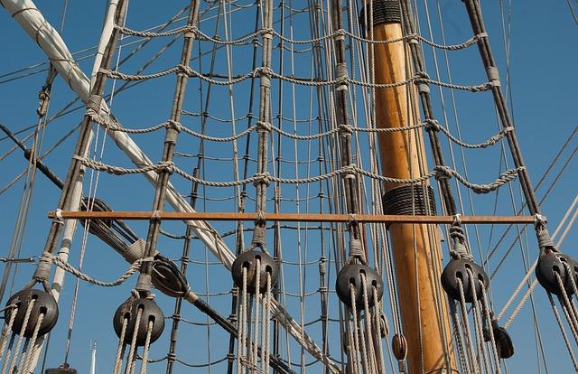 Mats, Rope Ladders, Sailboat