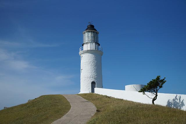 Lighthouse, Landscape, Matsu Islands Assault View