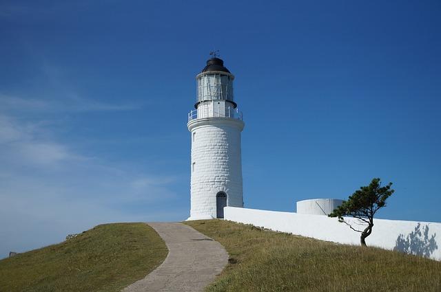 Lighthouse, Landscape, Matsu Islands Assault View