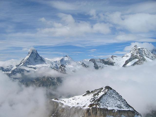 Matterhorn, Mountains, Switzerland
