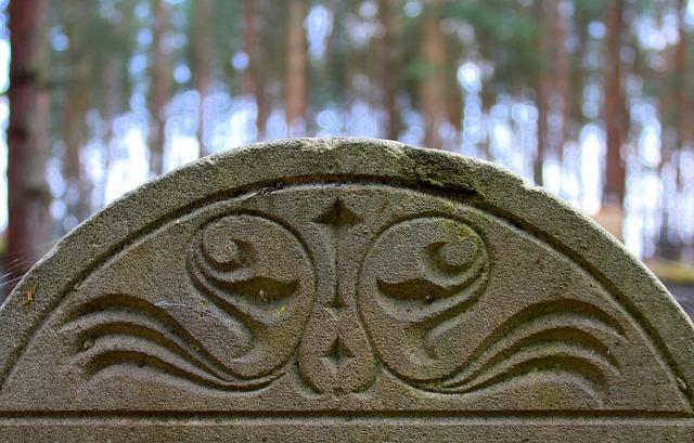 Monument, Stone Board, Cemetery, Matzeva, Sculpture