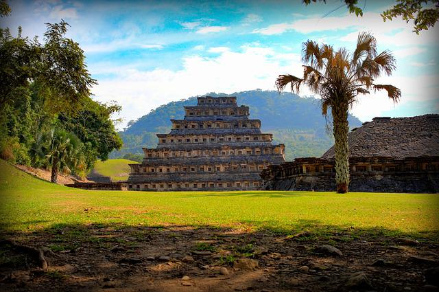 Pyramid, Maya, Mexico, Architecture, Tourism, Pyramids