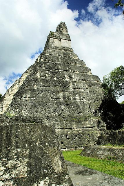 Guatemala, Tikal, Great Pyramid, Maya, Civilization