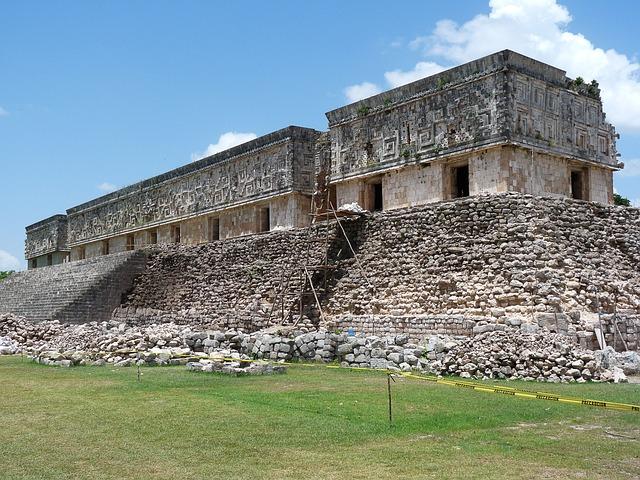 Mexico, Maya, Ruins