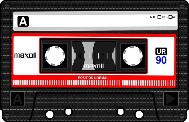 Compact Cassette, Musicassette, Mc, Cassette Tape, Tape