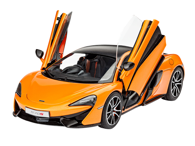 Auto, Model Car, Mclaren 570s, Isolated, Sports Car