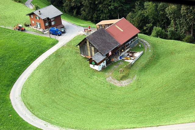 Klewenalp, Mountain Farm, Switzerland, Farm, Meadow