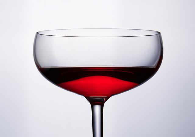 Glass, Chalice, Wine, Red, Meal, Dinner, Restaurant