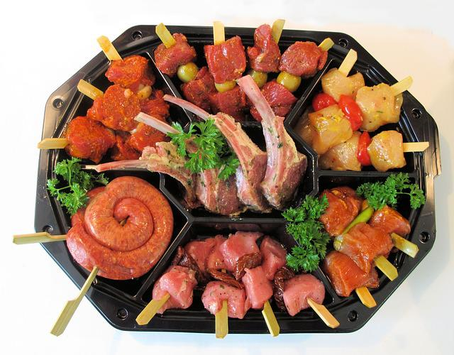 Sausage, Meat, Party, Butcher, Meal, Food