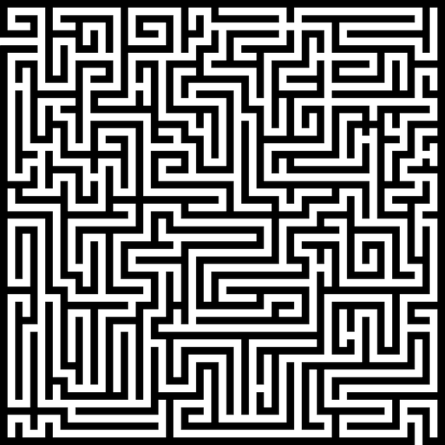 Labyrinth, Maze, Meander, Orientation, Way, Muster