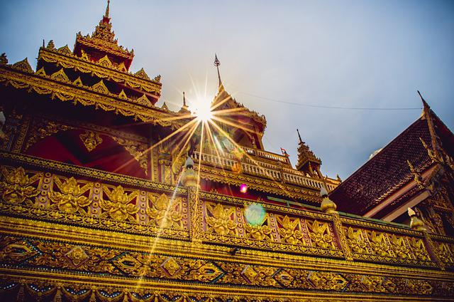 Measure, Thailand Temple, Buddhism, Art, Thailand Art