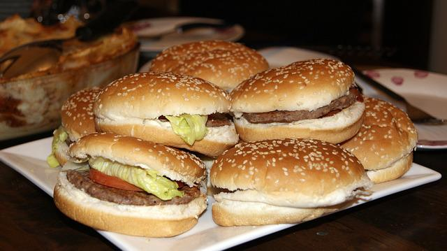 Burger, Chicken, Dish, Food, Homemade, Meal, Meat