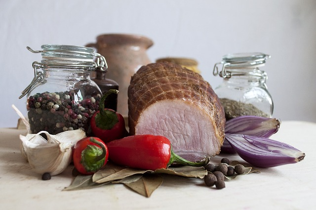 Eating, Jar, Still Life, No One, Meat