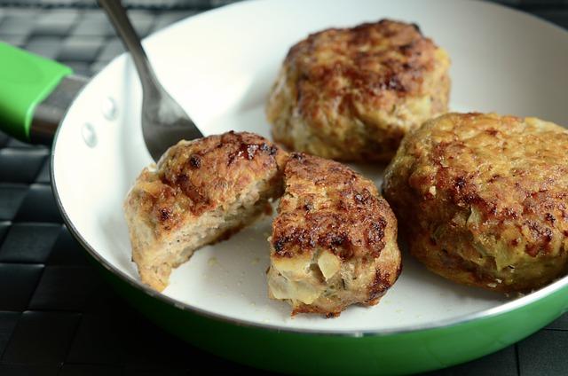 Meatballs, Meatloaf, Meat Dumplings, Fry, Minced Meat