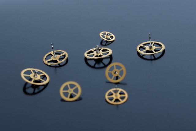 Mechanism, Spare Parts, Repair, Vintage, Gear