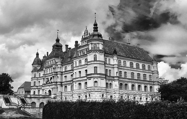Güstrow, Castle, Mecklenburg
