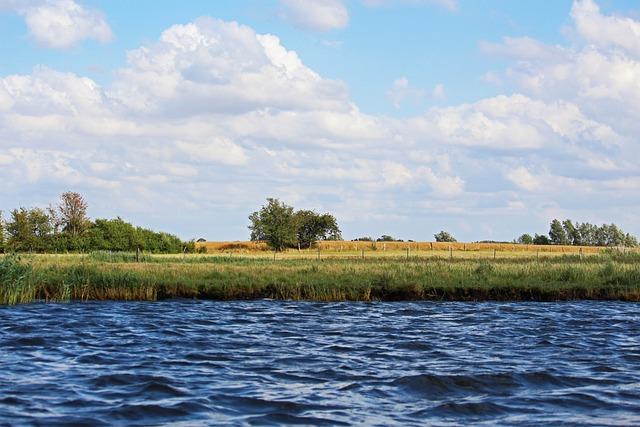 Mecklenburg Vorpommern, Gristow, Summer, Sky, Landscape