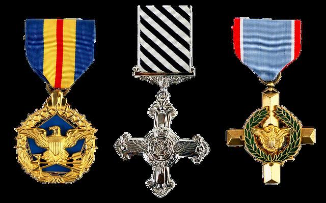 Medal, Order, Honors, Cross, Eagle, Wreath, Military