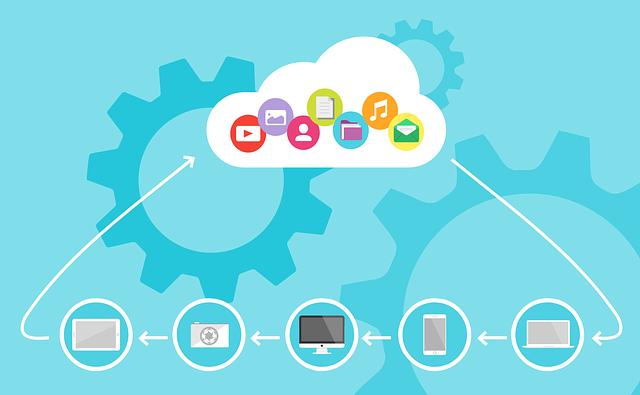 Cloud Computing, Cloud, Device, Data, Media, Digital