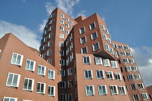 Gehry Buildings, Düsseldorf, Media Harbour