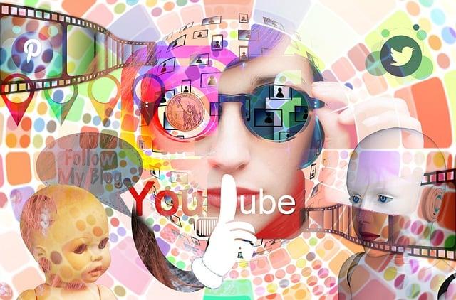 Interaction, Social Media, Abstract, Head, Woman, Media