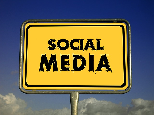Town Sign, Social, Media, Shield, Network