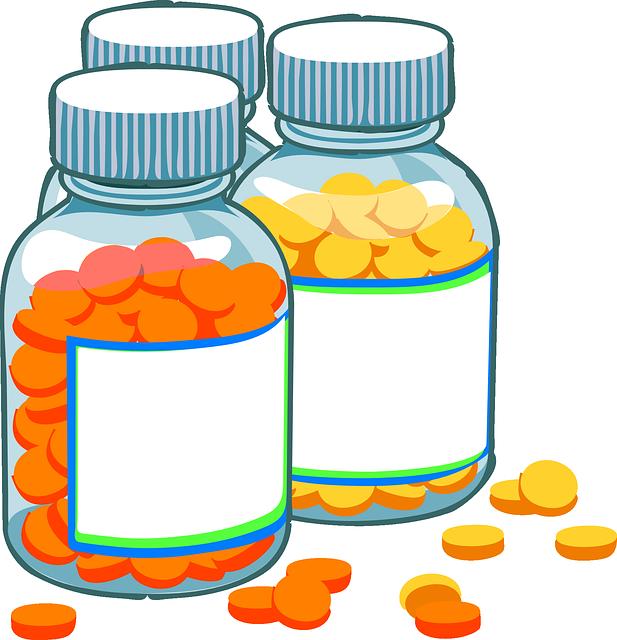 Medicine, Pills, Bottles, Medical, Capsules, Pharmacy