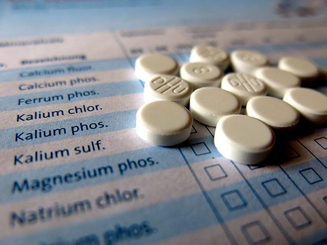 Schüssler, Tablets, Homeopathy, Medical, Alternative