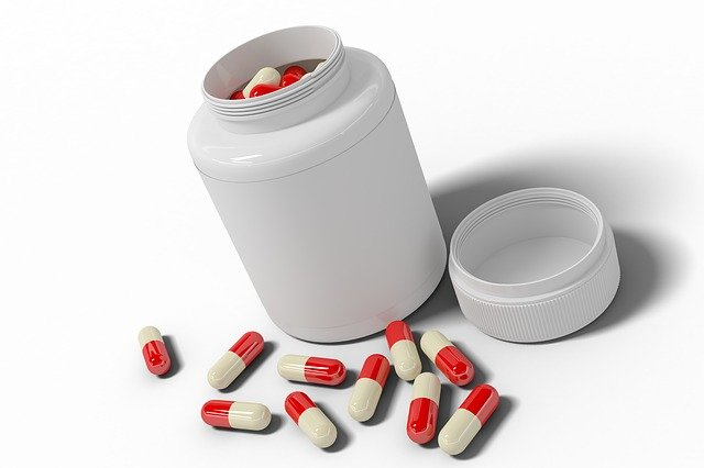 Jar, Bottle, Medication, Plastic Containers